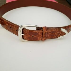 Genuine Polo Ralph Lauren American Alligator belt